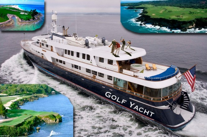 Golf Charter Yacht Stargazer -  Main